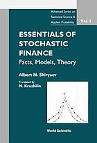 Essentials of stochastic finance : facts, models, theory