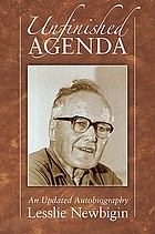 Unfinished agenda : an autobiography