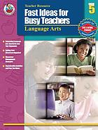 Fast ideas for busy teachers language arts, grade 5
