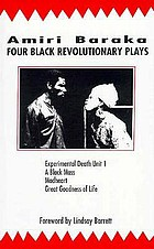 Four Black revolutionary plays, all praises to the Black man