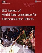 IEG Review of World Bank Assistance for Financial Sector Reform