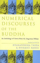 Numerical discourses of the Buddha : Aṅguttara nikāya : an anthology of Suttas from the Anguttara nikāya
