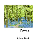 I accuse! = (J'accuse!)