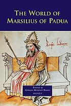 The world of Marsilius of Padua