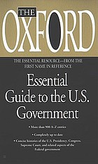 The Oxford essential guide to the U.S. government
