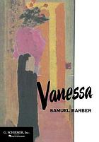 Vanessa : opera in three acts : vocal score