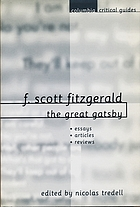 F. Scott Fitzgerald : the great Gatsby