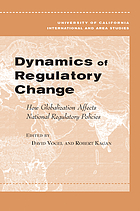 Dynamics of regulatory change : how globalization affects national regulatory policies