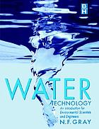 Water technology : an introduction for scientists and engineers