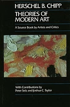 Theories of modern art; a source book by artists and critics
