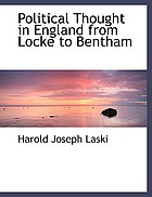 Political thought in England from Locke to Bentham