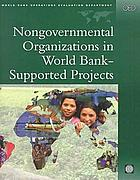 Nongovernmental organizations in World Bank-supported projects a review