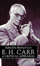 E.H. Carr : a critical appraisal