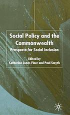 Social policy and the Commonwealth