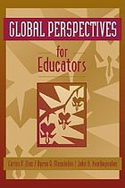 Global perspectives for educators