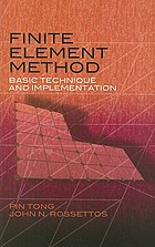 Finite-element method : basic technique and implementation