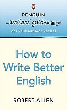 How to write better English