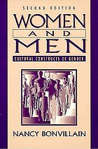 Women and men : cultural constructs of gender