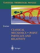 Classical mechanics : point particles and relativity