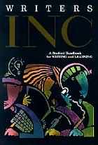 Writers INC : a student handbook for writing & learning