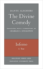 The divine comedy of Dante Alighieri Inferno