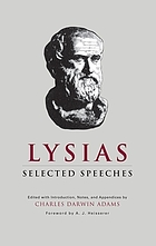 Lysias : selected speeches