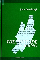 The finitude of being