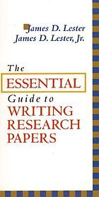 The essential guide to writing research papers