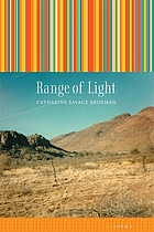 Range of light : poems