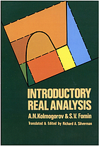 Elements of the theory of functions and functional analysisIntroductory real analysis