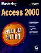 Mastering Access 2000