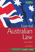 Essential Australian law