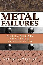 Metal failures : mechanisms, analysis, prevention