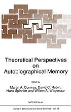 Theoretical perspectives on autobiographical memory