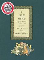 I saw Esau : the schoolchild's pocket book