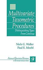 Multivariate taxometric procedures : distinguishing types from continua