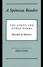 A Spinoza reader : the Ethics and other works