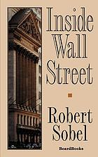 Inside Wall Street : continuity and change in the financial district