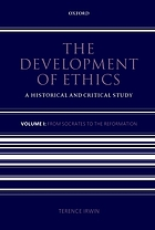 The development of ethics : a historical and critical study