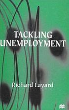 Tackling unemployment