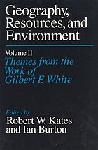 Themes from the work of Gilbert F. White