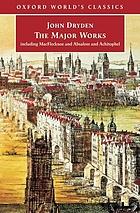 John Dryden : the major works