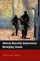 African security governance : emerging issues