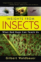 Insights from insects : what bad bugs can teach us