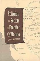 Religion and society in frontier California