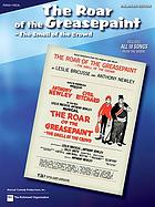 The roar of the greasepaint, the smell of the crowd original Broadway cast recording