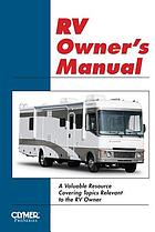 RV owners operation & maintenance manual