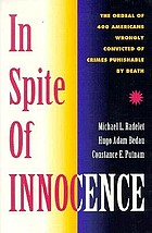 In spite of innocence : erroneous convictions in capital cases
