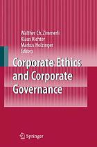 Corporate ethics and corporate governance