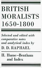 British moralists, 1650-1800